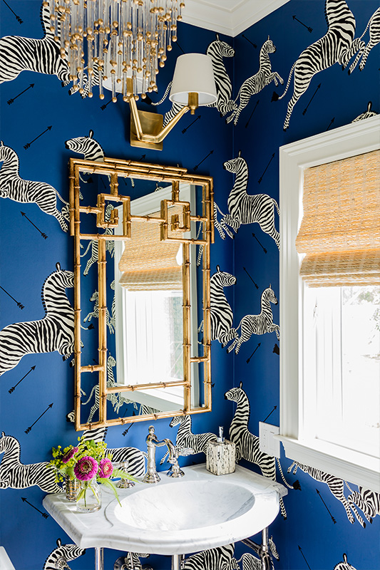 Peel Stick Wallpaper Powder Room Picks Emily A Clark