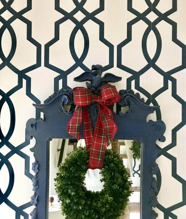 Christmas Boxwood Wreath Walmart Emily A Clark