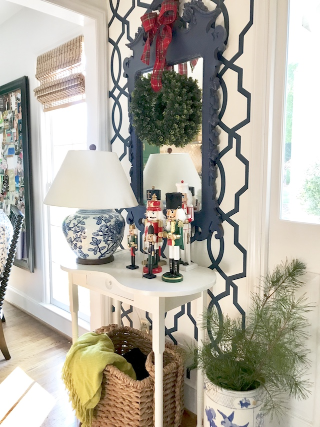 Our Festive Entryway With Walmart Finds Emily A Clark