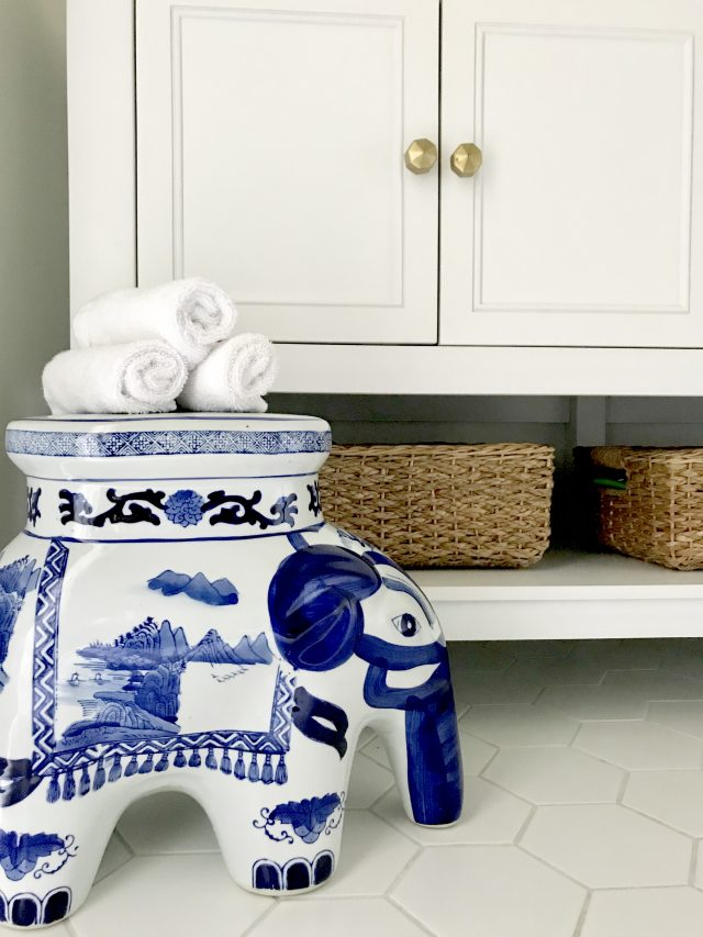 blue-white-ceramic-elephant-stool-bathroom