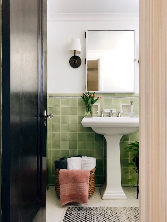 green-tile-bathroom-makeover