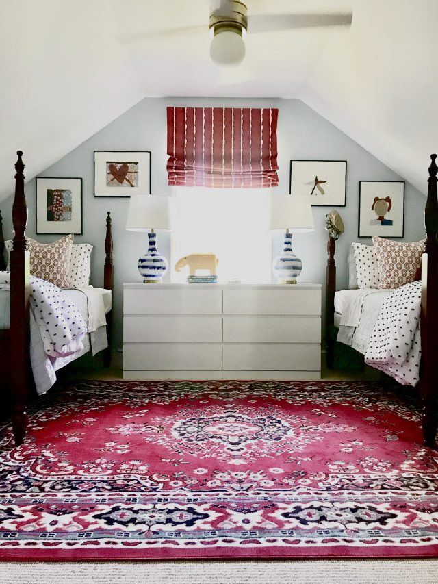 Our Twins Shared Bedroom A New Color Palette Emily Clark