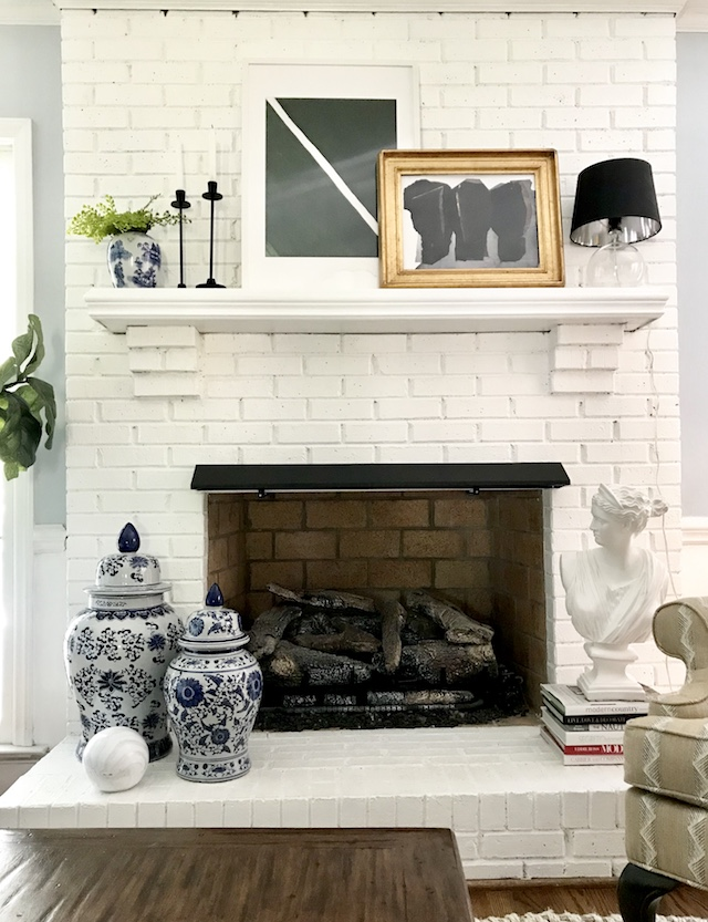 how-to-layered-mantel-decorating