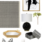 Styling Simplified: Black + White Modern