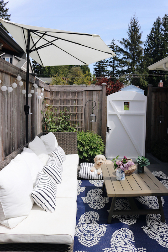 cozy small patio