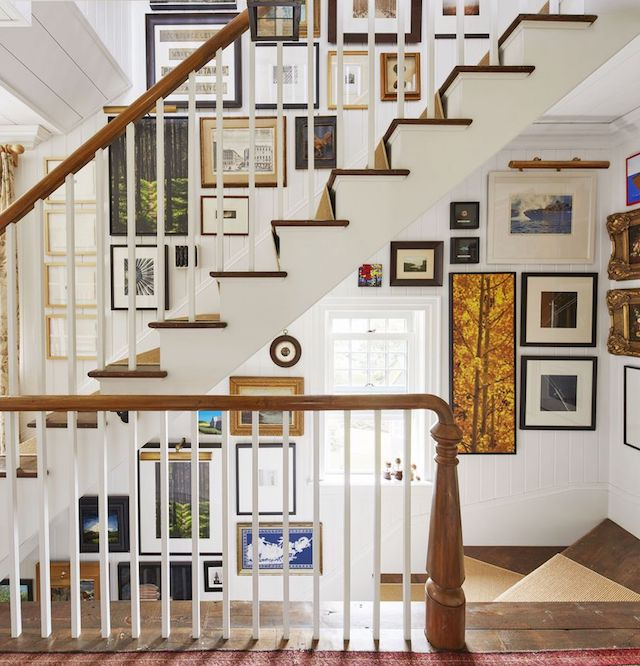 Phillip-Mitchell-Veranda-seaside cottage- stairwell gallery