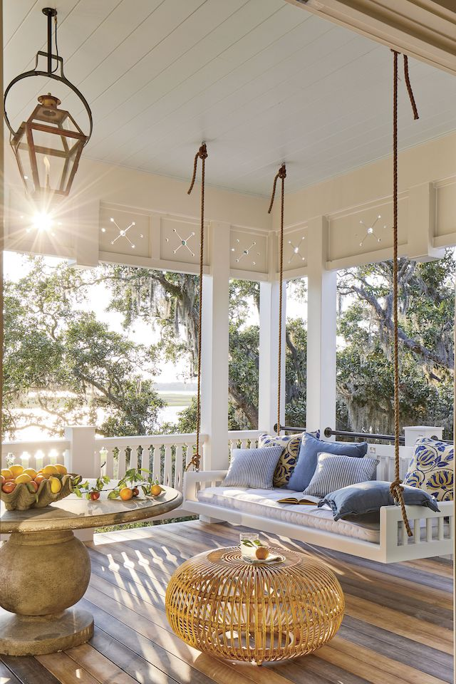 Southern-Living-Idea-House-2019-porch-swing-bed