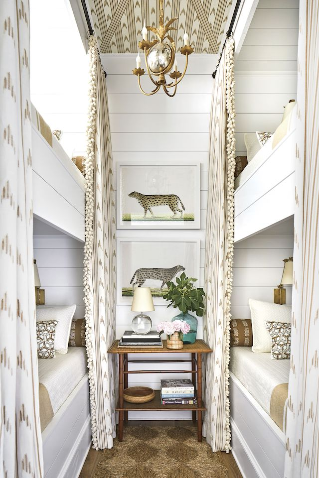Southern-Living-Idea-House-bunk-bed-room - Emily A. Clark