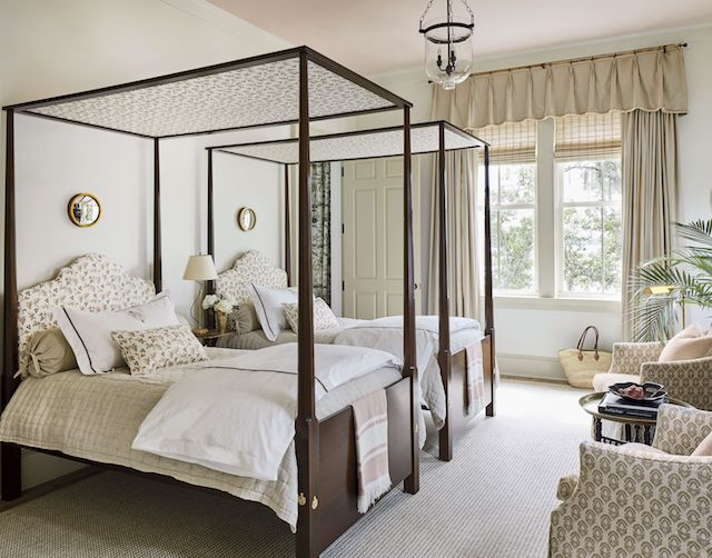 Southern Living Idea House Guest Bedroom Emily A Clark