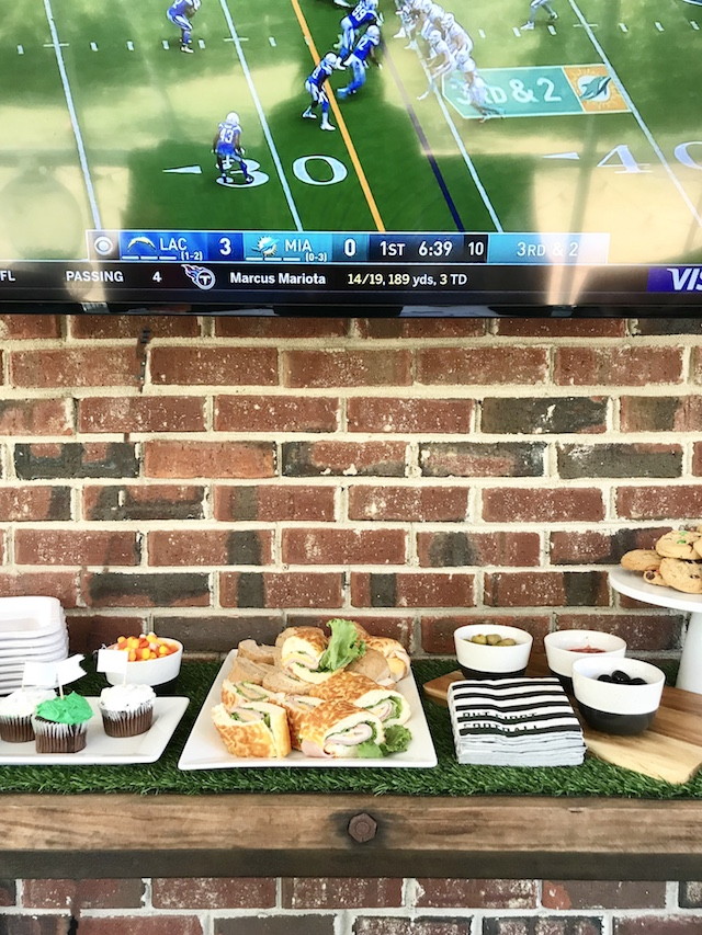 walmart-game-day-food-set-up-porch
