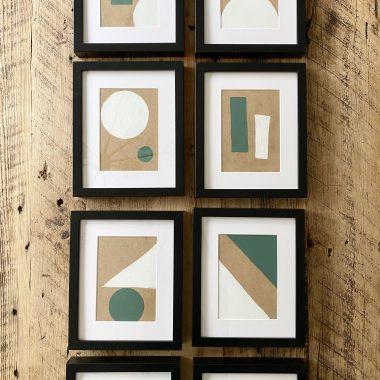 DIY_geometric_art-gallery-wall