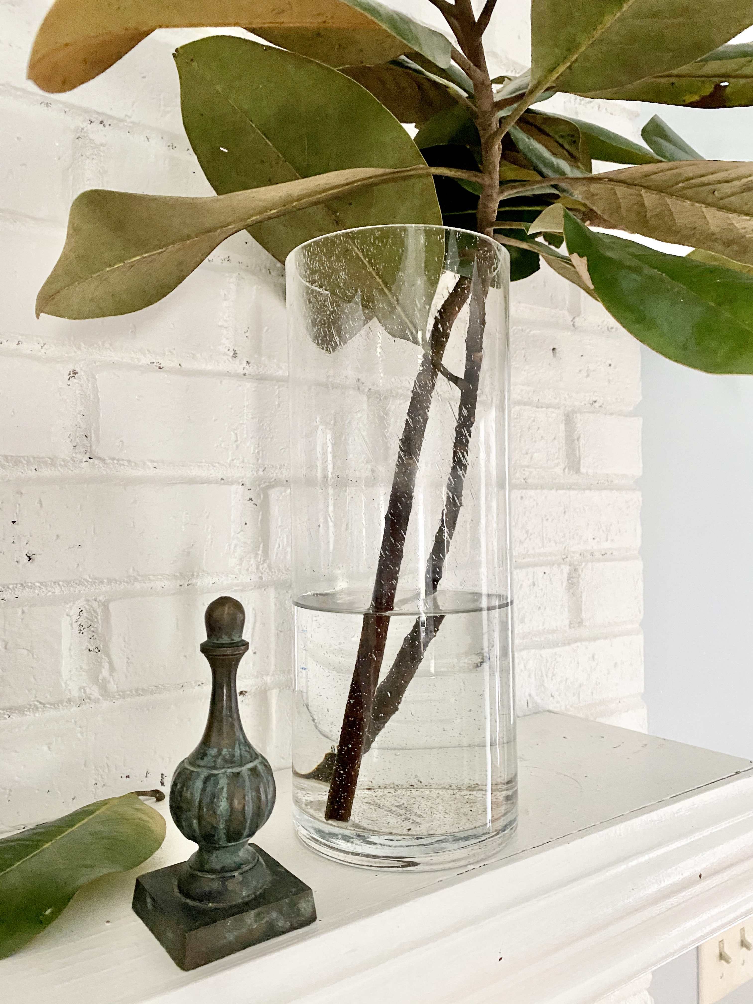 mantel-styling-objects-branches