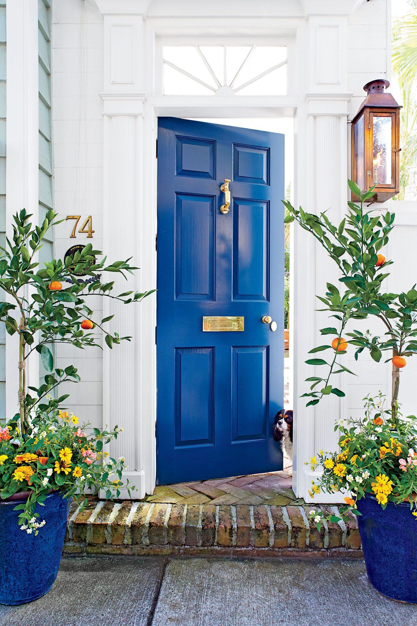 Classic-Blue-front-door
