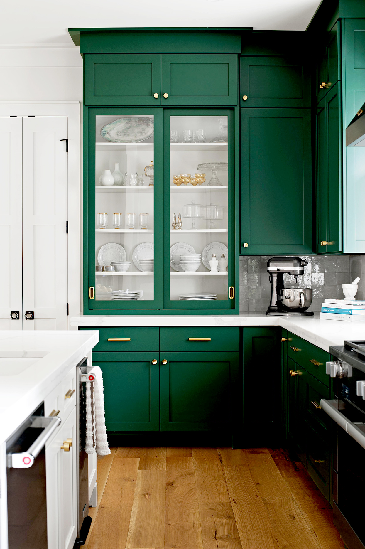 5 Shades of Green for Your Kitchen Cabinets - Emily A. Clark
