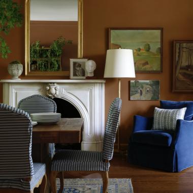 Rust+Blue+Color+Combo+Sabbe+Interior+Design