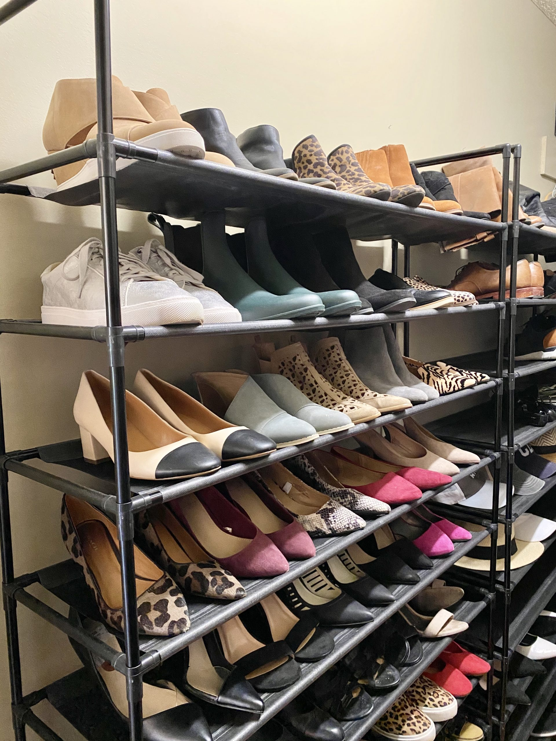 shoe-rack-inexpensive organizing-products