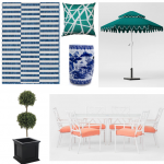 3 Patio/Outdoor Room Designs for Spring