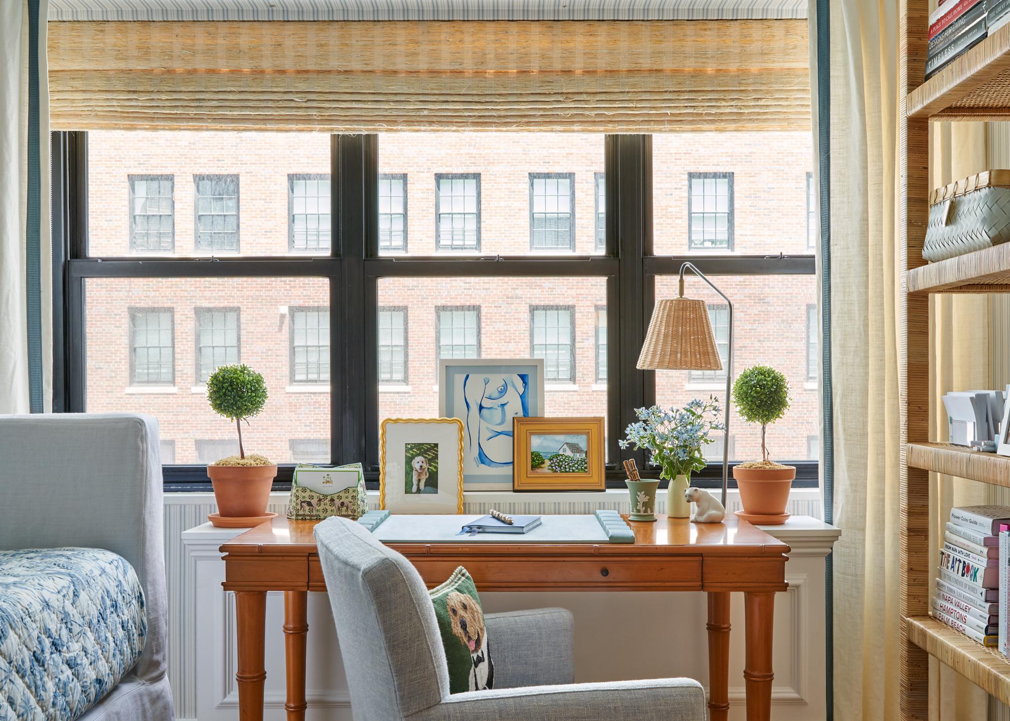 bedroom + home office