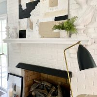 abstract-art-painting-fireplace