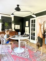 black-walls-home-office