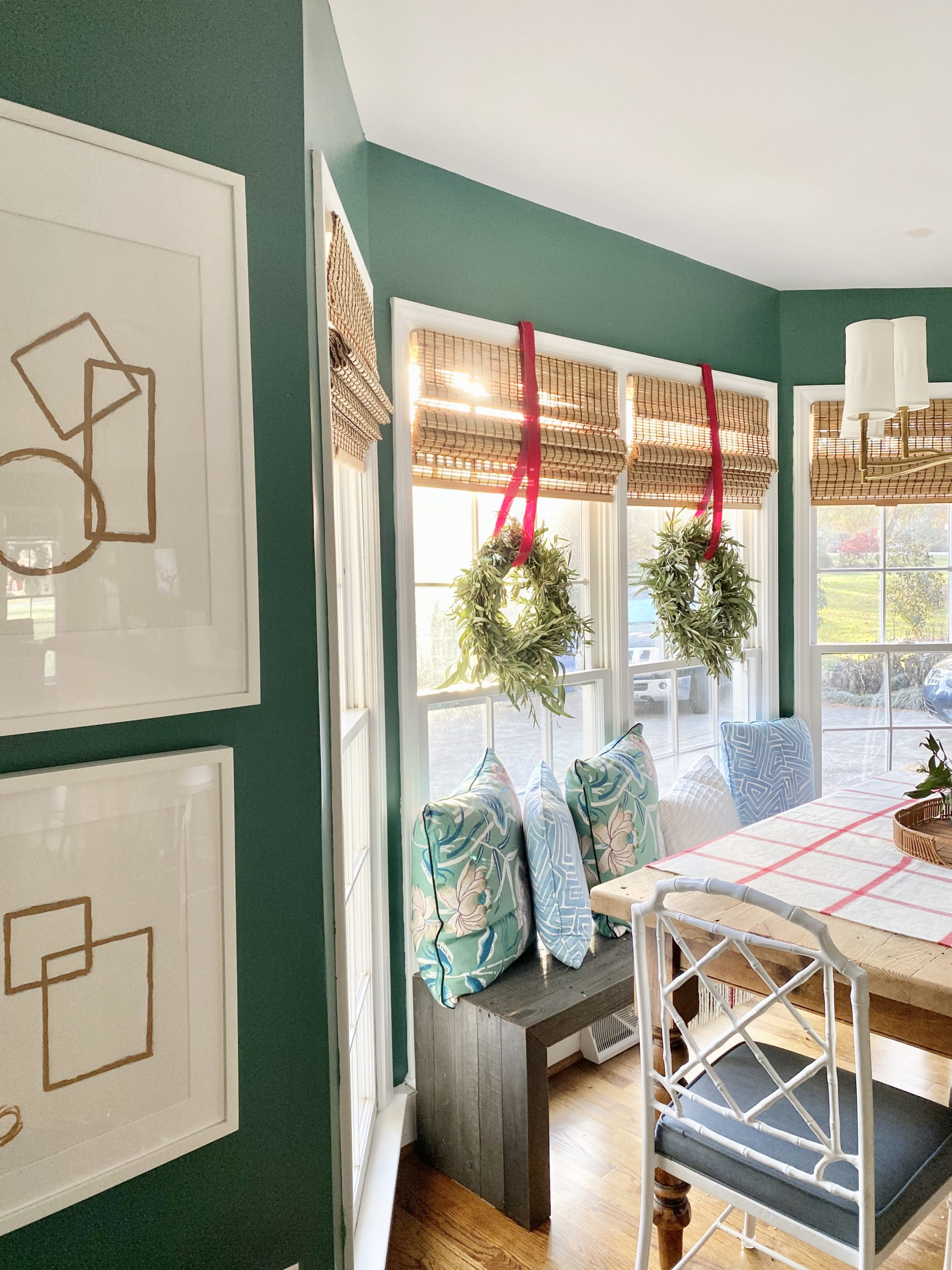 Colonial-home-tour-christmas-green-kitchen