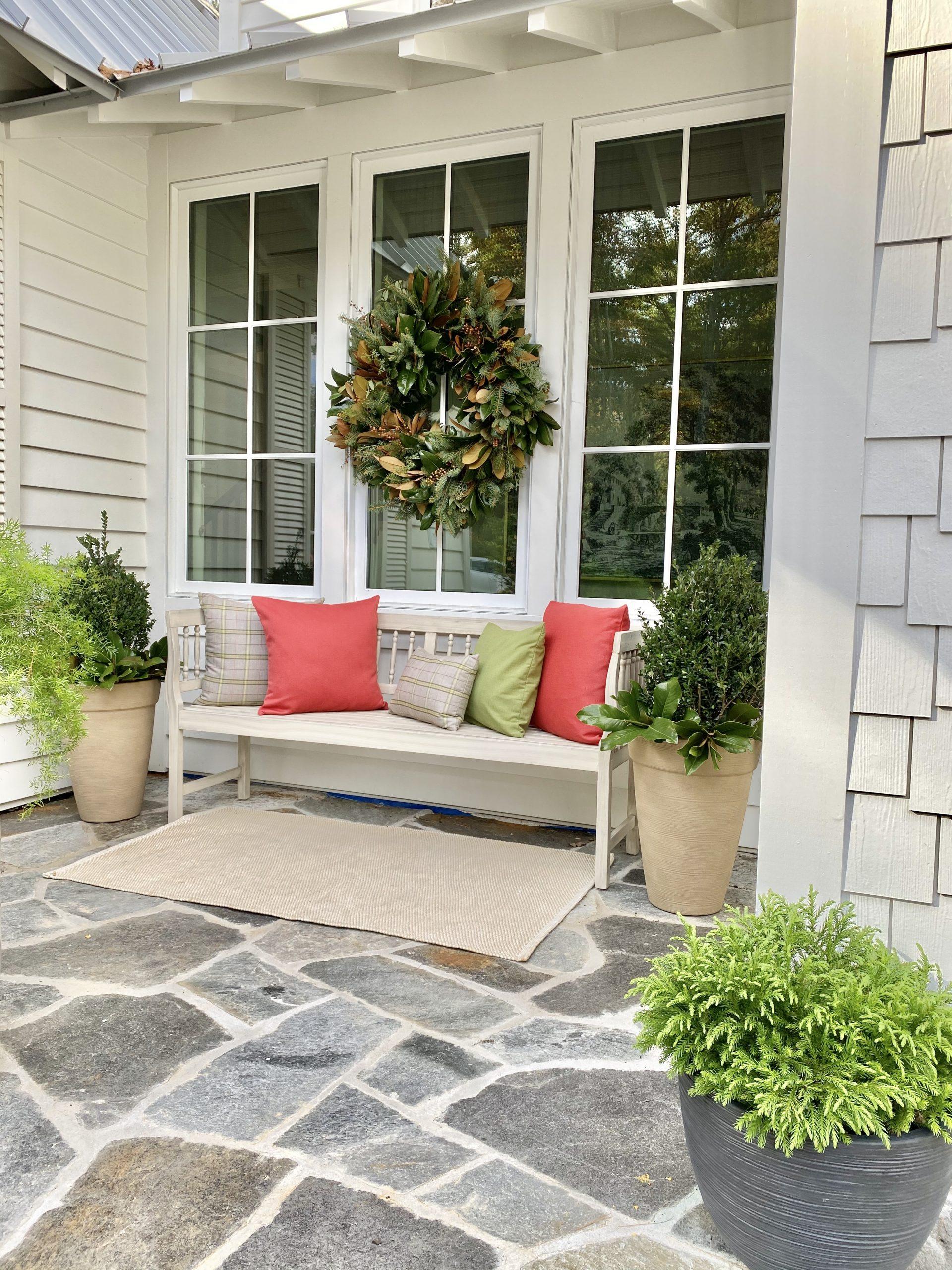 Sunbrella-Fabrics-Front-Porch-Holiday-Styling