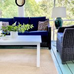 How I Mix Outdoor Furniture Styles