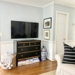 Styling Our Too-Small TV Stand