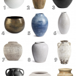 Fall Decorating: Vases + Vessels