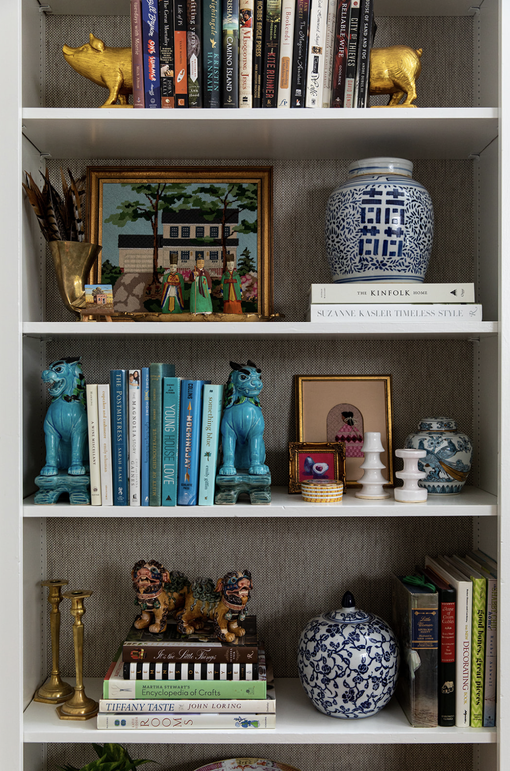 layered-collected-bookcases-Cameron_Jones