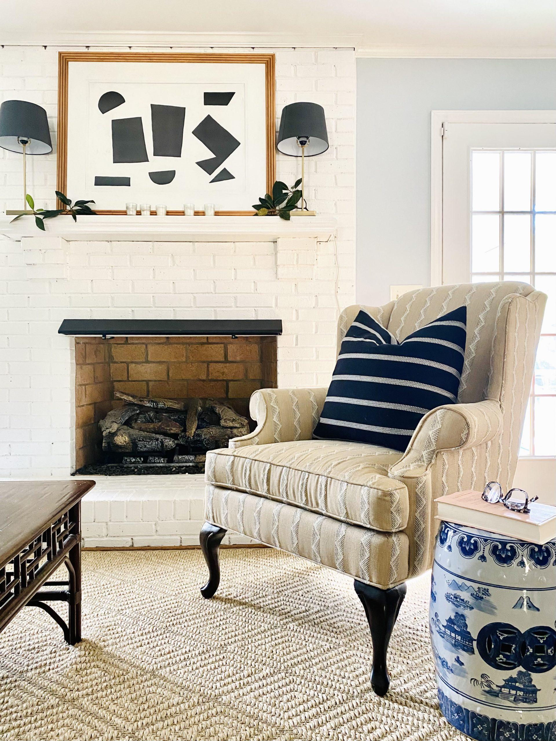Fall-decorating-mantel-living-room