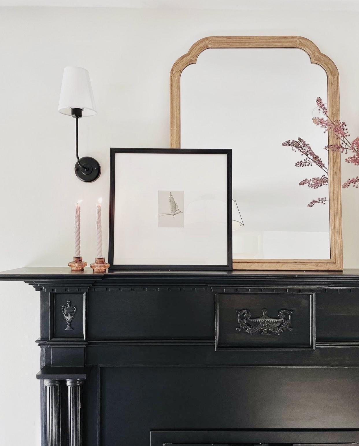 black-matte-granite-painted-fireplace-surround